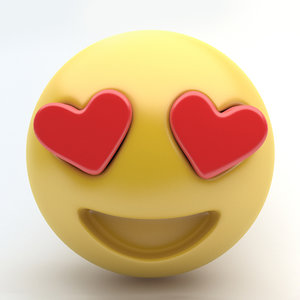 3d 3ds emoji love