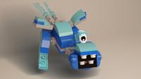 lego mixels snoof 3ds