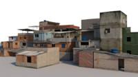 Brazil Favela Slum