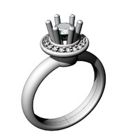3d engagement ring damiani