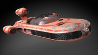 Star Wars X-34 Landspeeder luk howercraft
