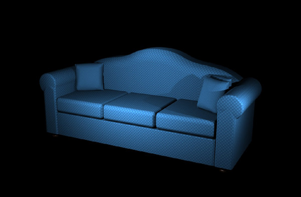 couch 3d fbx