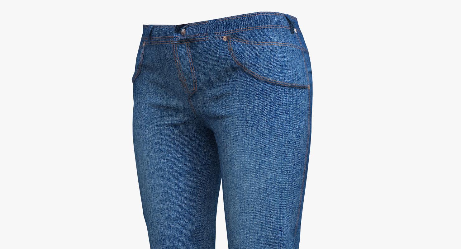 max jeans woman blue
