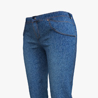 max jeans woman blue