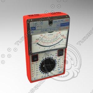 voltmeter 3d model