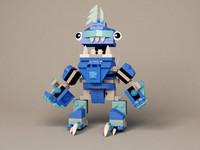 3d model lego mixels frosticons