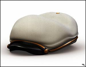3d model hat sailor
