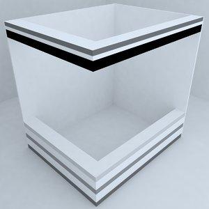 3d model otel desk
