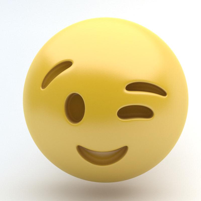 max emoji wink