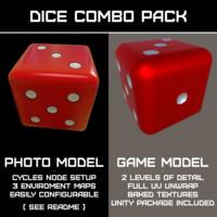 ready dice 3d model
