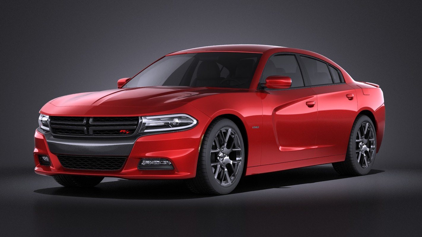 3d model of dodge charger 2017