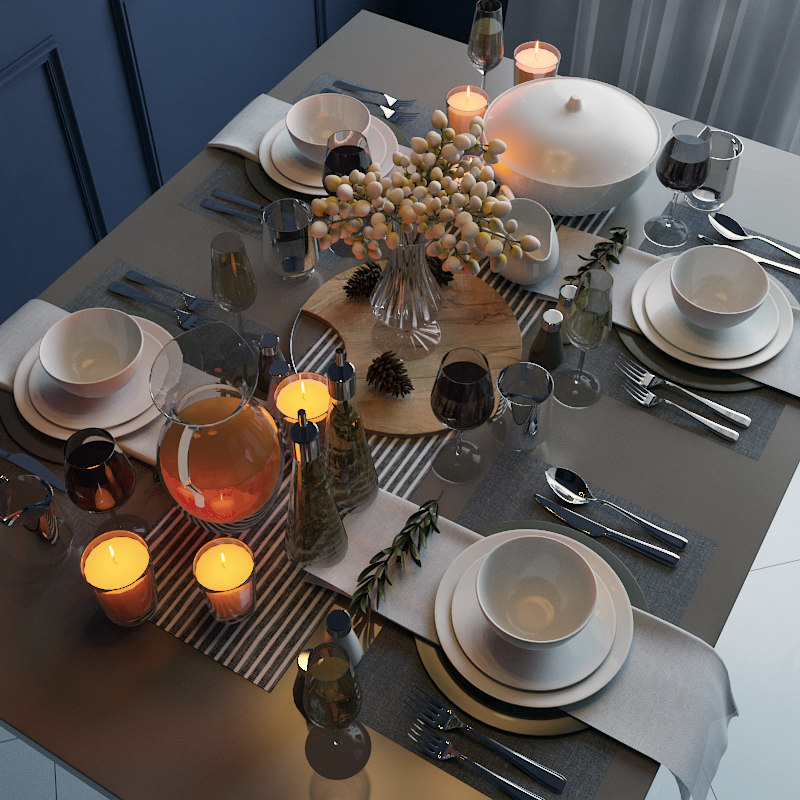3d table appointments serving model