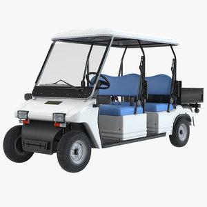 3d model melex passenger electirc