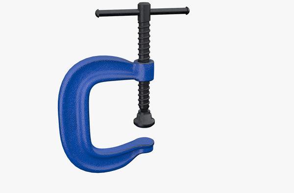 obj generic c clamp