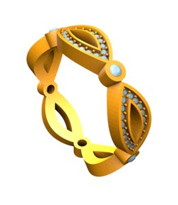print designer jewelry 3d model