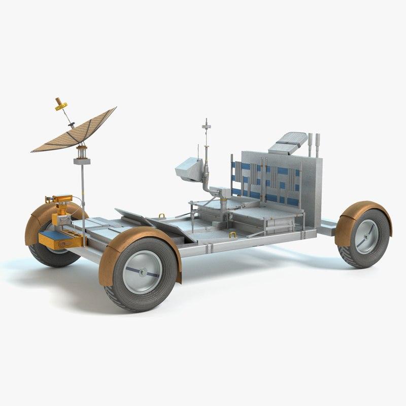 lunar rover 3ds