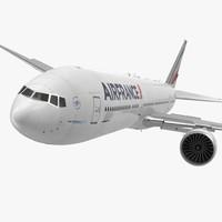 3d boeing 777-8x air france model