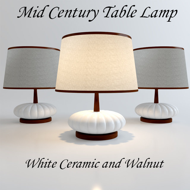 free max mode century modern table lamp