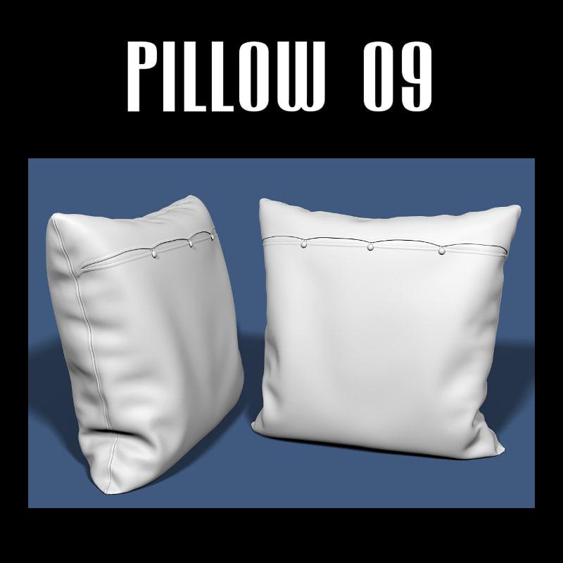 pillow interior fbx