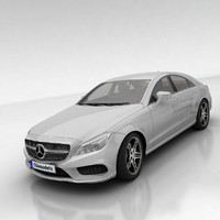 3d coupe cls mercedes