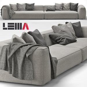 max lemamobili cloud sofa
