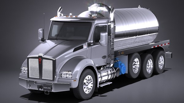 t880 2017 tank 3d model