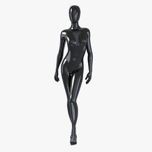 3d max female mannequin