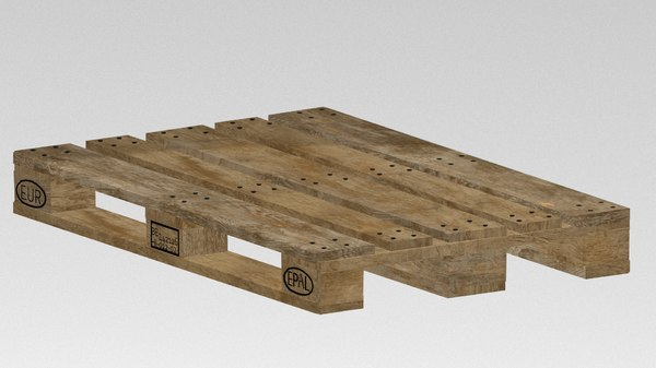 3d max euro pallet box
