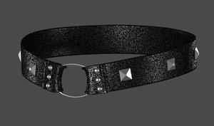 3d collar model