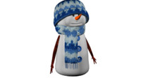 snowman snow 3d 3ds