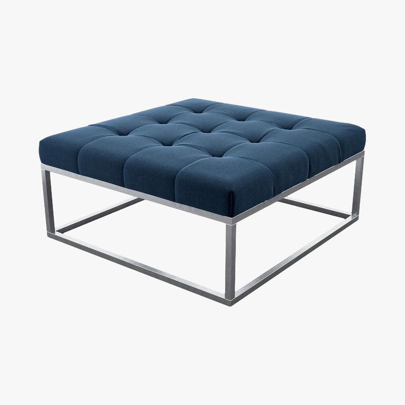 3d model fabric blue purple