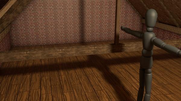 attic 3ds free