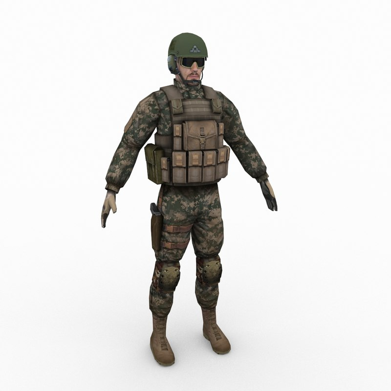 3d army delta force model