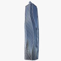 skyscraper architecture 3d max