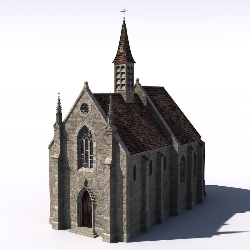 medieval church lwo