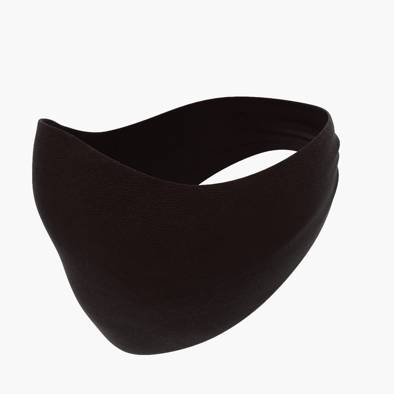 leather balaclava mask 3ds