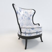 balcaen armchair 3d model