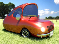 cartoon car x