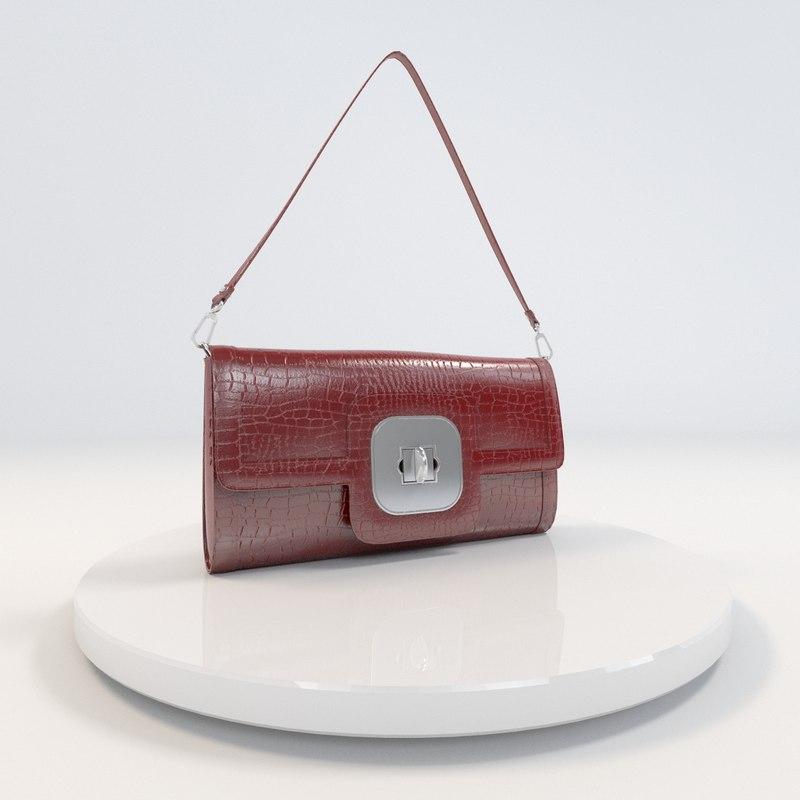 cosmos purse 3d model
