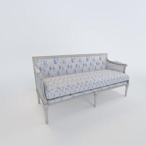 versailles sofa 3d max