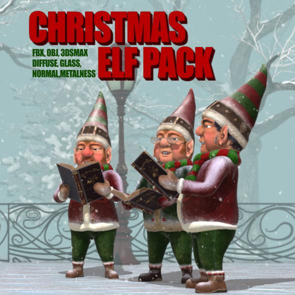 max christmas elf pack