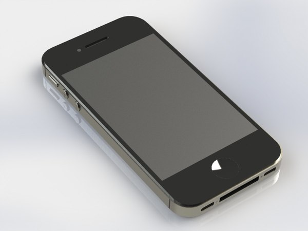 phone mobile iphone c4d