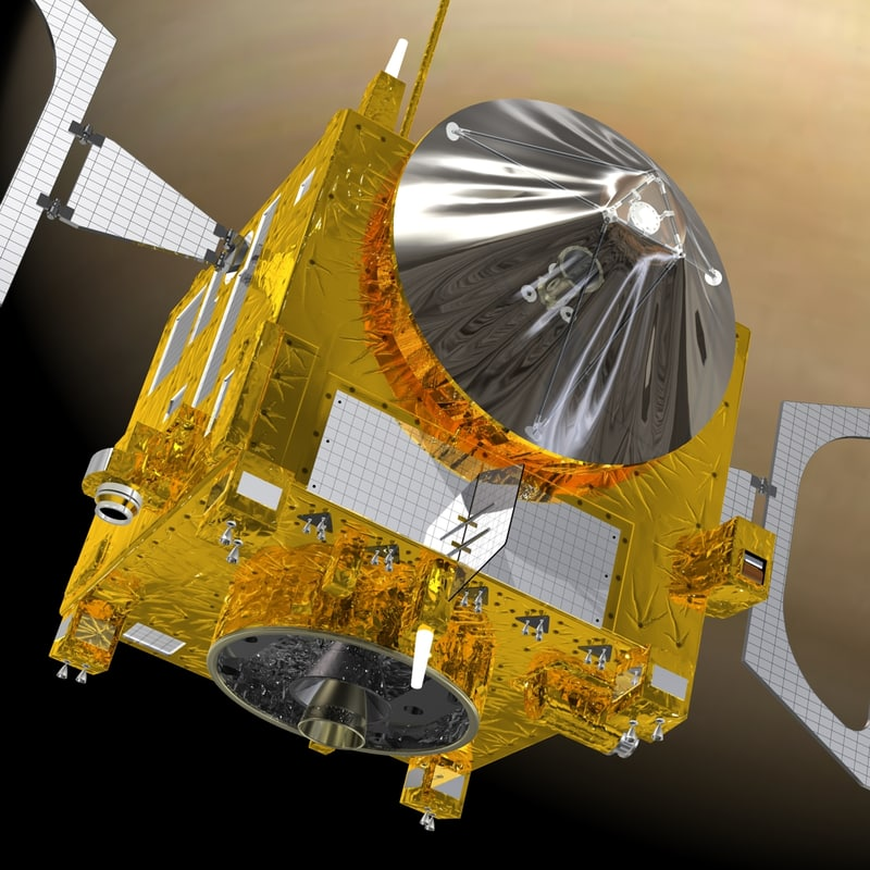 3d model of venus express space planet