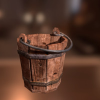 Medieval Bucket for games