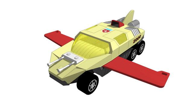 3d model of adventure 2000