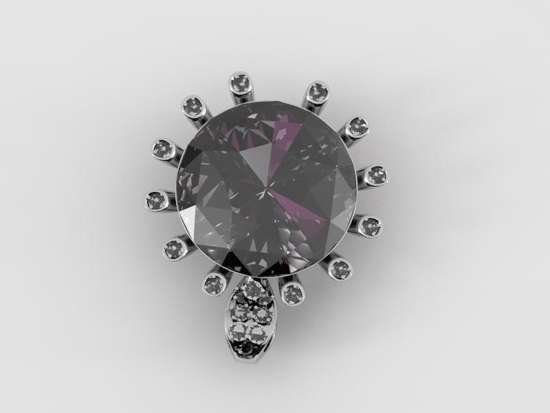 jewelry pendant 3d model