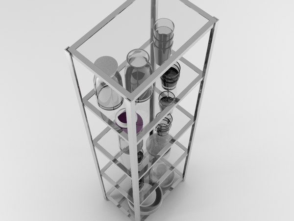 rack utensils 3d max