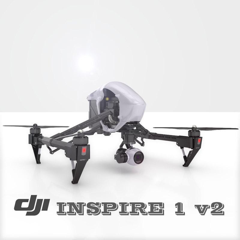 3d drone inspire dji