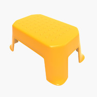 3d plastic stool design