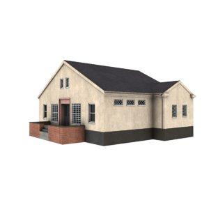 small shop 3d model